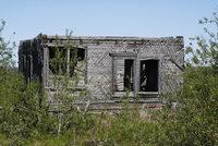 Единственное строение, сохранившееся от многочисленных воркутинских лагерей, - контрольно-пропускной пункт