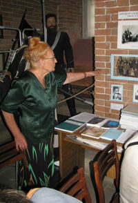 Директор музея истории города Оренбурга Роза Чубарева