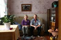 Елена Ивановна и Александр Авенирович дома